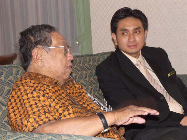 Former President of Republic Indonesia, Mr Abdurrahman Wahid