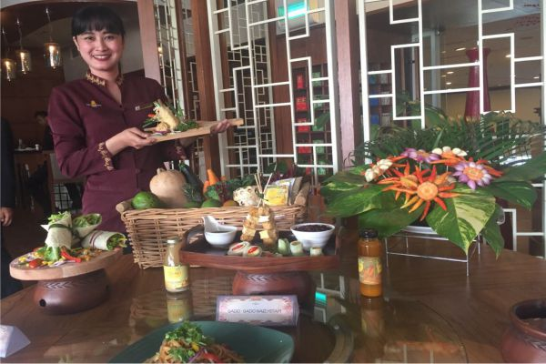 Launching Menu Vegetarian
