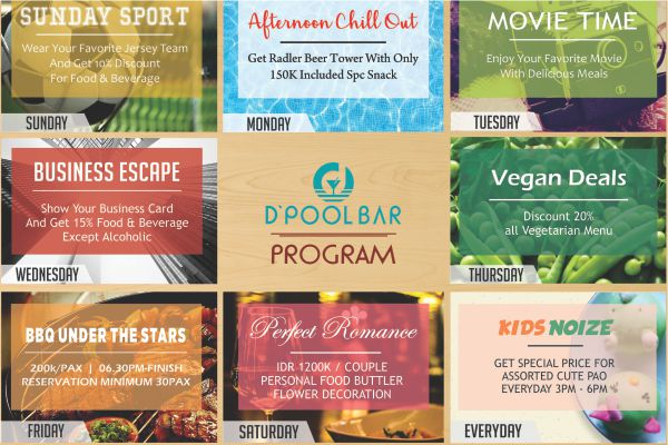 D Pool Bar Program